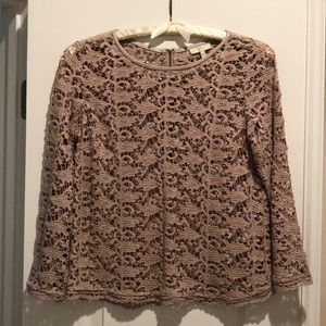 Joie crochet like top